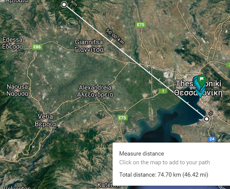 UFO Thessaloniki Greece 6.2.21